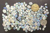HUGE WHOLESALE 125 Carats Australian OPAL Solids Gemstones (#L6439)