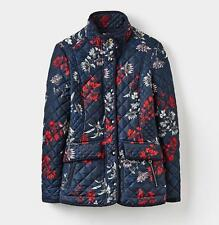 Joules Newdale Print Quilted Jacket Coat With Tags Various Sizes 10