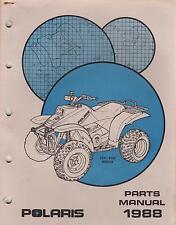 1988 POLARIS ATV TRAIL BOSS W888528  P/N 9911489  PARTS MANUAL (220)