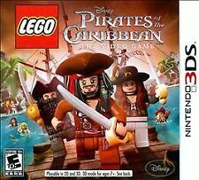 LEGO Pirates of the Caribbean: The Video Game (Nintendo 3DS, 2011)