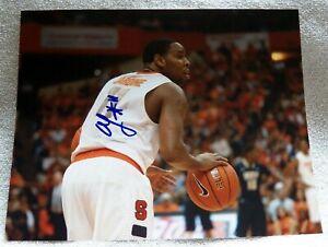 Syracuse Orange Antonio Scoop Jardine Signed 8x10 Photo Auto