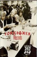 Foreigner ‎. Records. 747 Import Cassette Tape