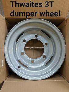 Thwaites compatible 3 ton dumper wheel