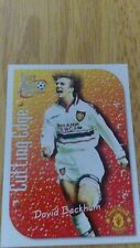 Manchester United Futera 1999 Fans Selection Cutting Edge Embossed Card CE7