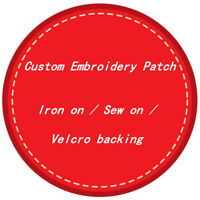 Custom Embroidery Patch Customized Badges Personalized DIY Logo Emblems Design