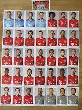 36 Autogrammkarten AK FC BAYERN MÜNCHEN FCB 15/16 2015/2016 Autogrammkartensatz