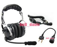 RACING HEADSET HEADPHONE FOR ICOM IC-T7H IC-U1 4-081 + 44-S