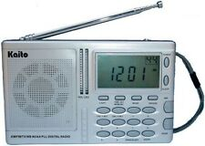 New Kaito AM FM Weather Band Radio with NOAA Alert! KA2031 Free Shipping!