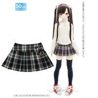 Azone 50cm Pleated Skirt Side Belt Green Check Yamato VMF50 Obitsu 1/4 BJD MSD