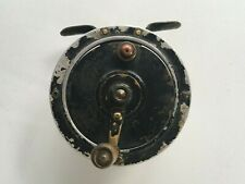 """ANTIQUE / VINTAGE FLY FISHING REEL FRENCH PARIS MAKERS MARK 3"""" DIAMETER X1 3/4"""""""