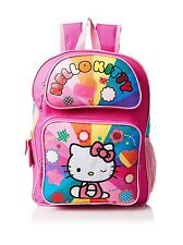 Hello Kitty Backpack For School Girl Kids Toddler Book Bag Preschool Shoulder