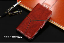 Brown Handmade Luxury  Leather Flip Case Cover For OnePlus 3 / OnePlus Three