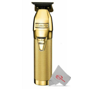BaByliss PRO GOLD FX Skeleton Exposed T-Blade Outlining Cordless Trimmer FX787G
