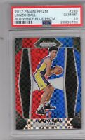 2017-18 Panini Prizm Lonzo Ball RED WHITE & BLUE ROOKIE RC #289 PSA 10 GEM MINT