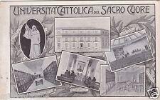 # MILANO: UNIVERSITA' CATTOLICA DEL SACRO CUORE
