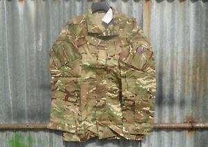 NEW BRITISH ARMY ISSUE MTP CAMO PCS WARM WEATHER COMBAT SHIRT 180/104 LARGE / XL