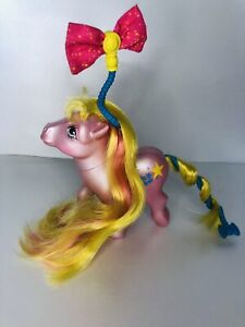 MLP Vintage 1984 My Little Pony Starlight 💫🌟⭐️ G1 Hair-do Pony Hasbro Rare!