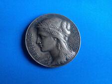Médaille Bronze Argenté République Française Marianne HERCULE 1901/ French Medal