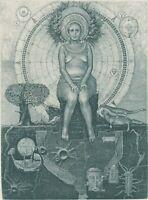 NEW 2019! TERRA (4 ELEMENTS) Exlibris  by Konstantin Antioukhin Original Signed