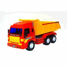 Big-Daddy Meduim Duty Friction Powered Construction Dump Truck With Dump Lever