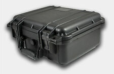 "14"" Hard Shell Case For Guns DSLR HD Camera with Pelican 1400 Pluck Foam NEW"