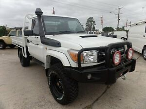 2012 Toyota Landcruiser VDJ79R Workmate (4x4) Cab Chassis