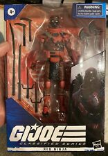 GI Joe Classified Series - Red Ninja - IN HAND - Excellent Condition!