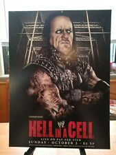 """WWE Hell in a Cell PPV Poster Print 12""""X16"""" Undertaker Free Shipping"""