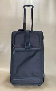 """Used TUMI Frequent Traveler Expandable 22"""" Upright Carry-On 22022D4 Black $595"""