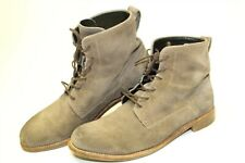 Belstaff Italy Made Mens 42 9 Patina Distressed Suede Leather Chukka Ankle Boots