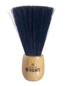 Kent Barber Barbers Barbershop Pure Black Bristle Neck Dusting Brush 16.5cm