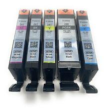 Canon OEM  PGI-280 & CLI-281 Colors (CMY) and PGI/CLI Black Ink Cartridge Set up