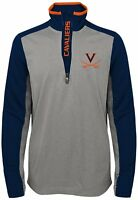 Virginia Cavaliers Long Sleeve Boys Shirt 1/4 Zip Top with Pockets Youth XL 18
