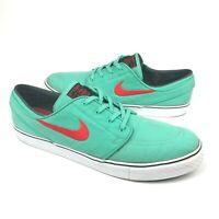 Nike Zoom Stefan Janoski Skateboard Shoes 615957-300 Crystal Mint Men's Size 13