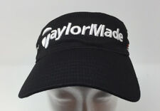 TaylorMade TMax Gear Visor Burner R11 Golf Black Adjustable Strapback Hat Cap