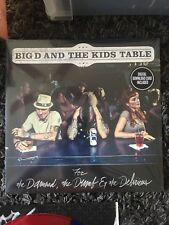 Big D and the Kids Table FOR THE DAMNED THE DUMB AND THE DELIRIOUS 2xLP BLUE RED