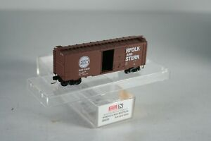 N Scale 20039 Micro Trains MTL Norfolk Western N&W 40' Box Car # 54045