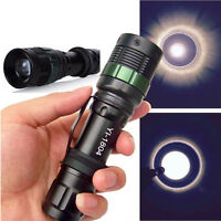 Zoomable 3000 Lumen CREE XM-L Q5 LED Flashlight Torch Zoom Powerful Lamp Light