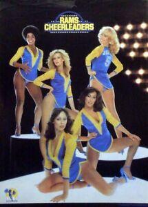 Vintage 1979 Los Angeles Rams Cheerleaders Poster NEW