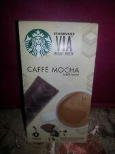 SALE!!! BN STARBUCKS  VIA Cafe Mocha SUPERSALE save php75