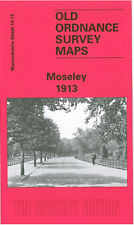 OLD ORDNANCE SURVEY MAP MOSELEY 1913