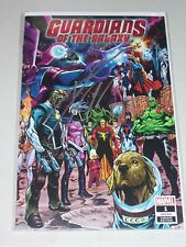 Guardians of The Galaxy #1! (2019) Wraparound Variant! Signed-Donny Cates! NM!