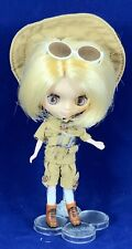 """Takara Petite Blythe Doll """"Save The Animals """" With Stand"""
