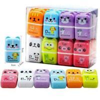 1pc Mini Roller Eraser Cartoon Rubber Kawaii Students X4B6 Stationery I9T3 B6T5