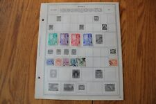 A39 Lot of Burma Stamps on 8 Minkus binder Pages