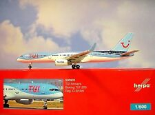 Herpa Wings 1:500  Boeing 757-200  TUI Airways G-BYAW  530903  Modellairport500