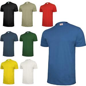 Arbeit T-Shirt Kurzarmshirt Unterhemd Arbeitsbekleidung 100% Baumwolle(TS)