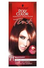 SCHWARZKOPF POLY COLOR TINT 71 MAHOGANY PERMANENT CREAM COLOUR