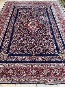 Sarouk Teppich Carpet Rug Orient Art Antik Perser Kunst Vintage Alt Handgeknüpft