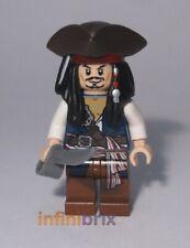Lego Captain Jack Sparrow (Tricorne) Minifigure from polybag 30133 NEW poc024